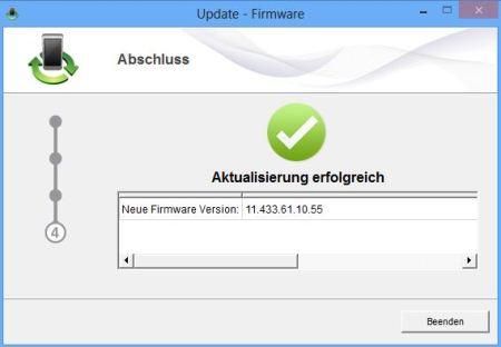 Firmware-Update für den Telekom Speedstick LTE installiert