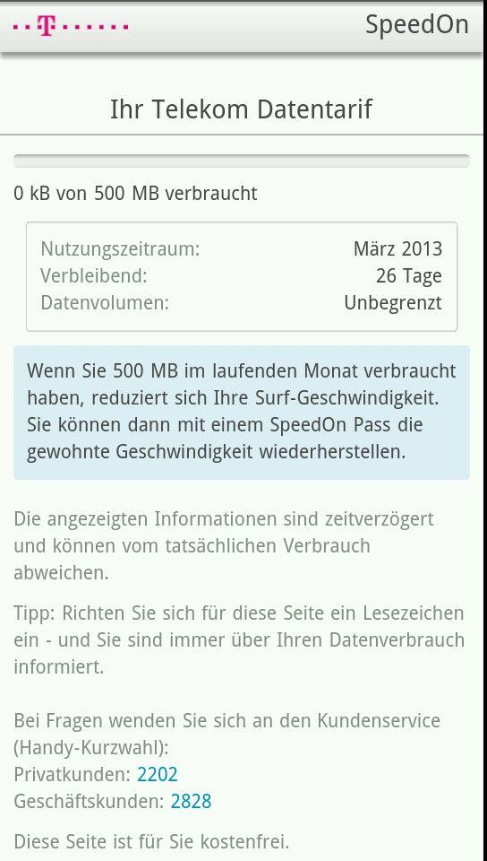 300 MB mehr Highspeed-Volumen dank Data-Plus-Option