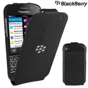 Blackberry Q10 mit Flip-Case (Foto: Mobilefun)