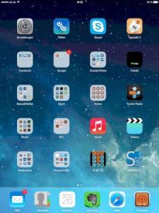 iOS7 Beta 2 auf dem iPad 3