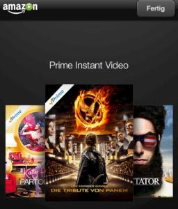 Amazon Instant Video auf dem Apple iPhone 5s