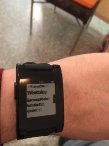 Display-Probleme bei der Pebble Smartwatch