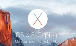 El Capitan und Windows 10 installiert (Foto: Apple, Screenshot: SmartPhoneFan.de)