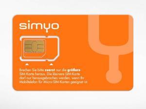 SIM-Karte von simyo (Foto: simyo)