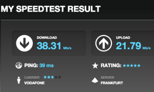 Vodafone-Speed in Berlin-Gropiusstadt