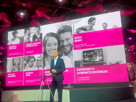 Telekom-Pressekonferenz auf der IFA 2016