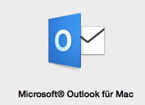 Endlich wieder Outlook am Mac