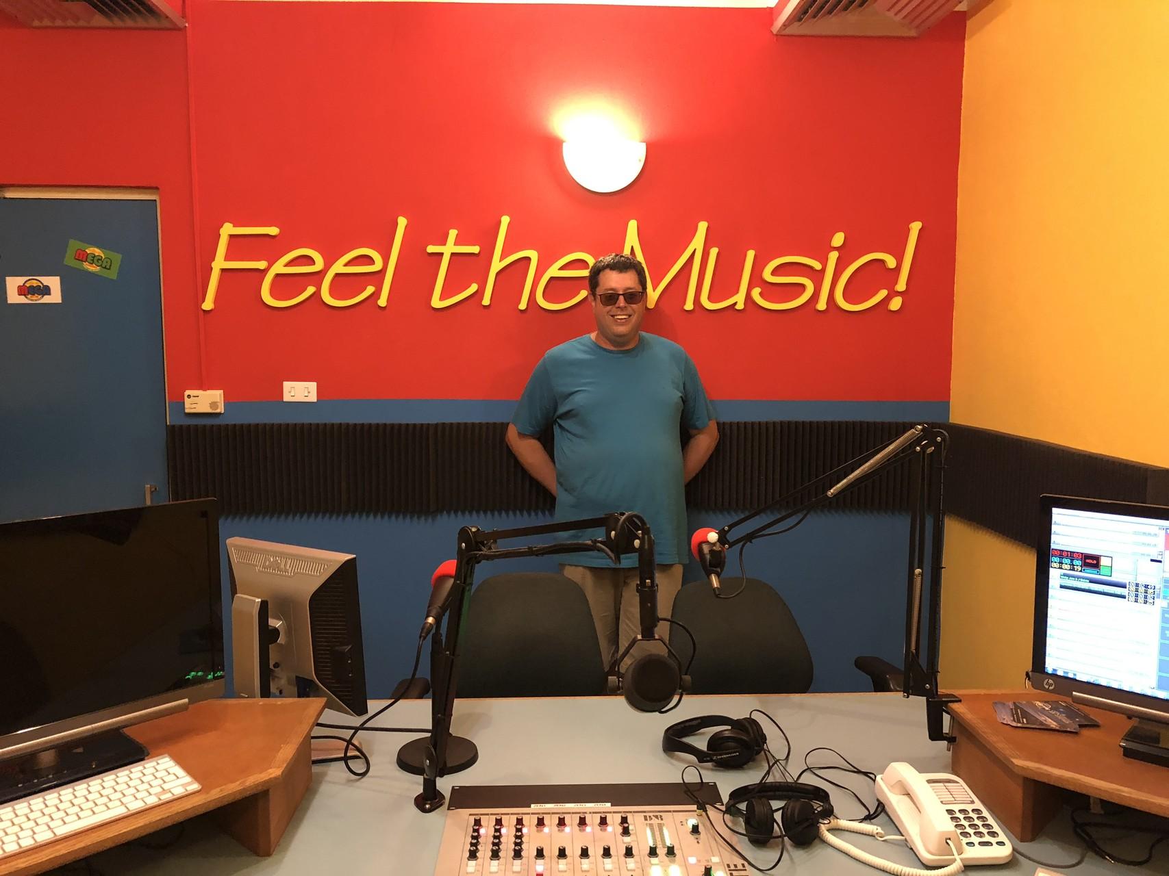 Besuch bei Mega Hit FM