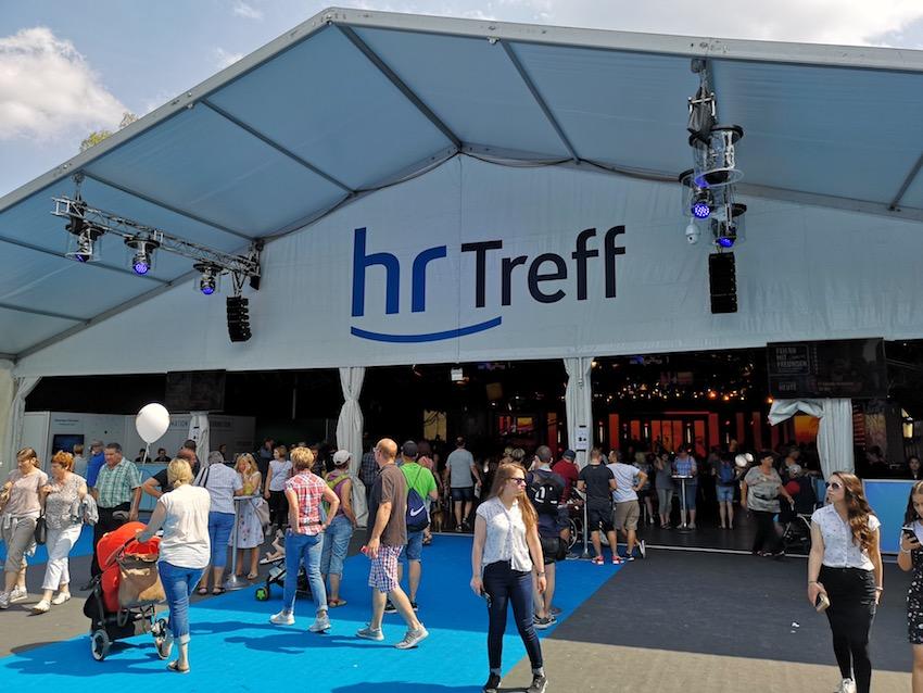hr-Treff auf dem Hessentag in Korbach