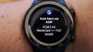 Google Pay mit der Huawei Watch 2
