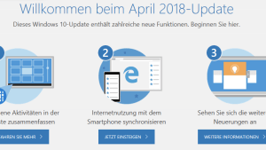 Windows-10-April-Update angekommen