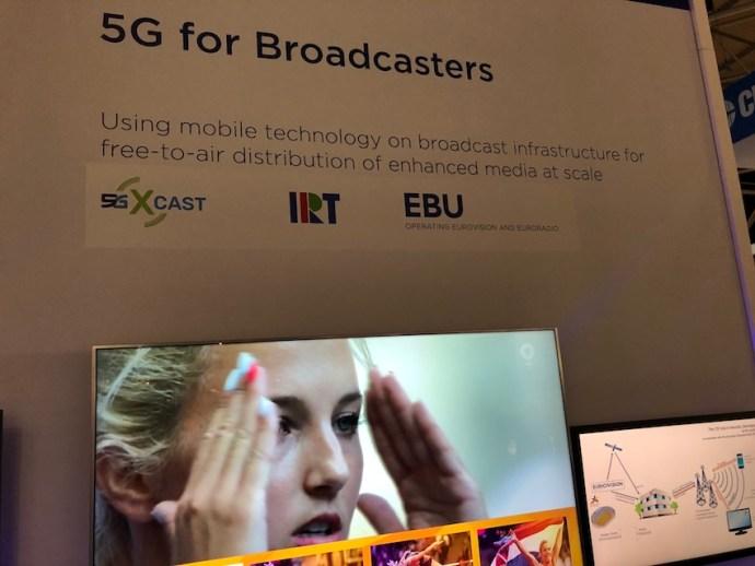 Die EBU zeigt Rundfunk über 5G (Foto: SmartPhoneFan.de)