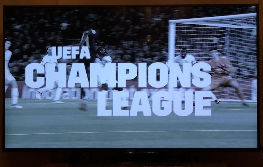 Champions League bei DAZN (Foto: SmartPhoneFan.de)