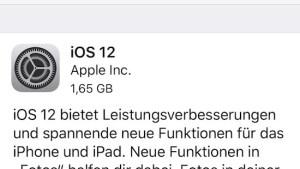 iOS 12 seit Montag im Einsatz (Foto: SmartPhoneFan.de)