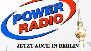 Power Radio bewirbt die UKW-Frequenz 99,1 MHz für Berlin (Foto: Power Radio)