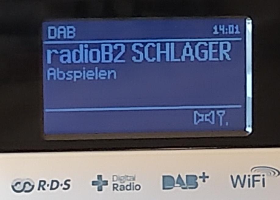 Empfang von Radio B2 im Kanal 11B (Foto: SmartPhoneFan.de)