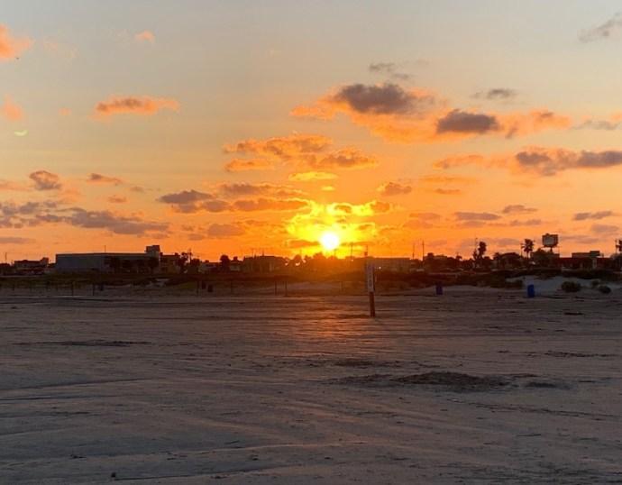 Sonnenuntergang in Galveston (Foto: SmartPhoneFan.de)