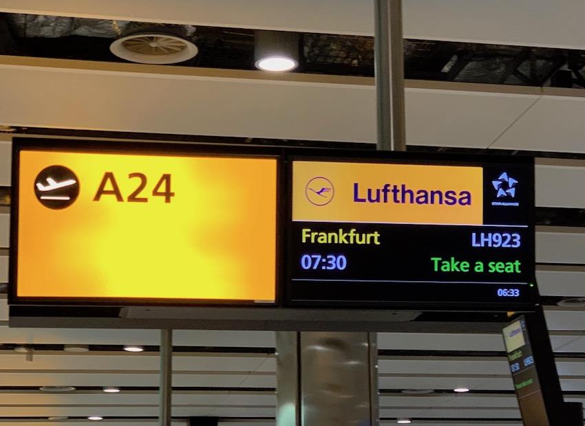 Letzte Etappe von London nach Frankfurt (Foto: SmartPhoneFan.de)