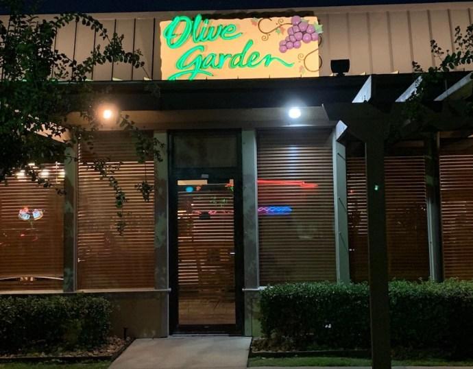 Abendessen bei Olive Garden (Foto: SmartPhoneFan.de)