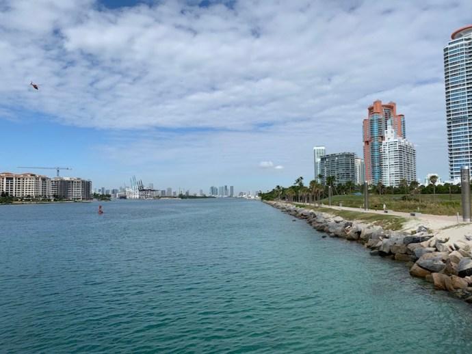 Beeindruckende Aussicht am South Pointe Pier (Foto: SmartPhoneFan.de)