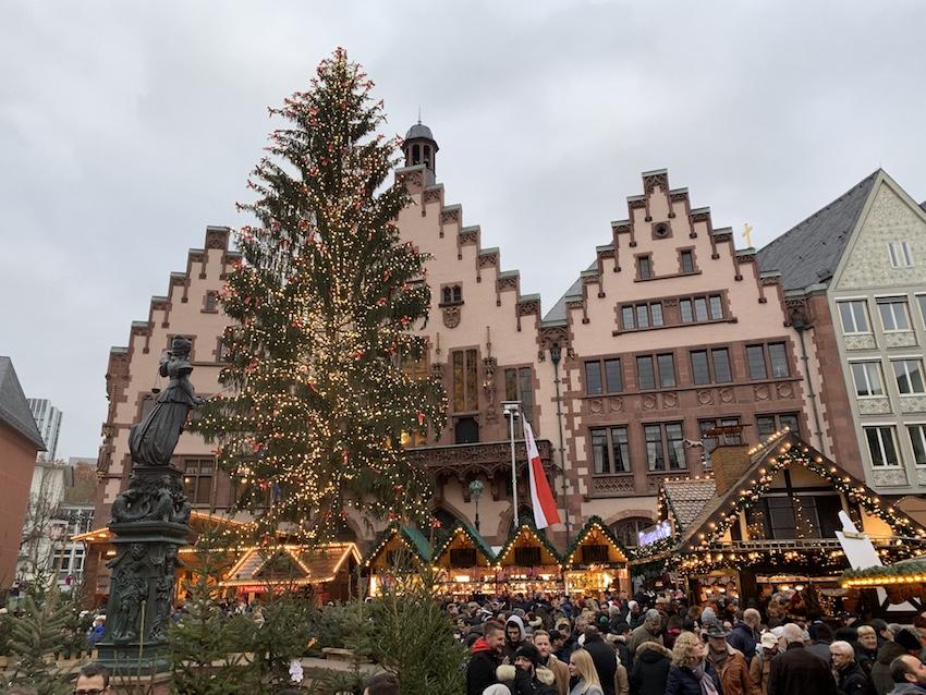 Besuch auf dem Frankfurter Weihnachtsmarkt (Foto: SmartPhoneFan.de)