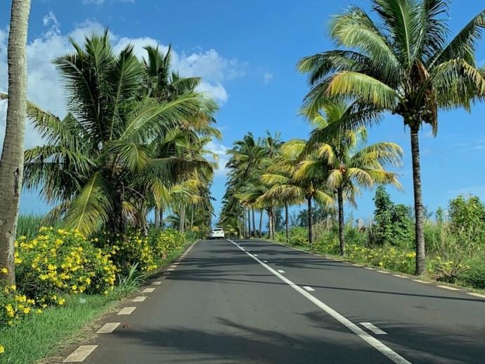 Unterwegs auf den Straßen von Mauritius (Foto: SmartPhoneFan.de)