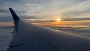 Kurz vor der Landung in Frankfurt am Main (Foto: SmartPhoneFan.de)