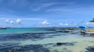 Am Indischen Ozean im Norden von Mauritius (Foto: SmartPhoneFan.de)