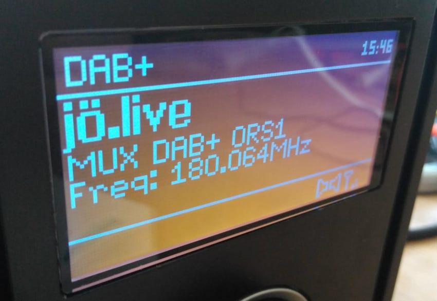 Erster Test des österreichischen DAB+-Bundesmuxes (Foto: OE1MPR)