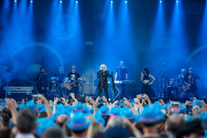 Kim Wilde war ab etwa 21.10 Uhr auf der Bühne (Foto: Bayerischer Rundfunk)