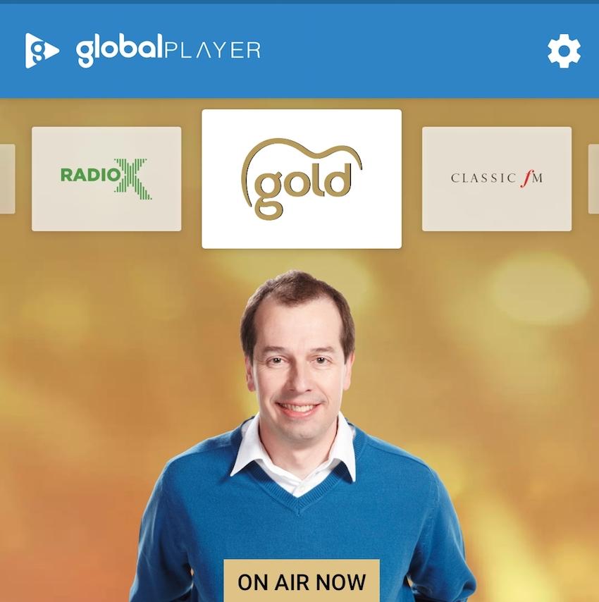 Global Player auf dem Samsung Galaxy S10+ (Foto: SmartPhoneFan.de)
