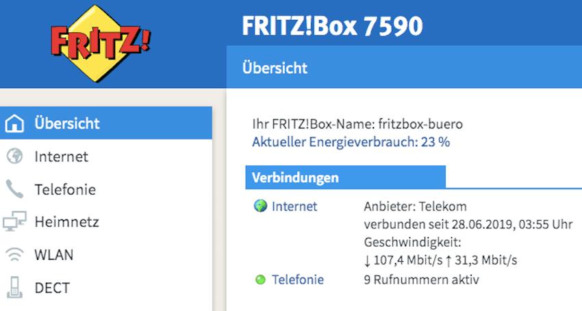 VDSL-Verbindung seit Ende Juni wieder stabil (Foto: SmartPhoneFan.de)