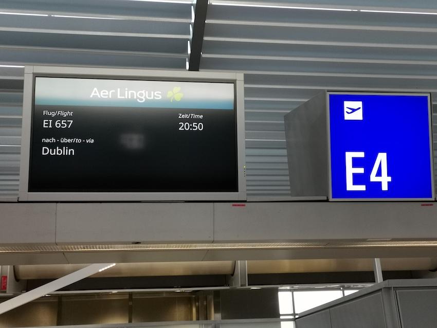 Abflug nach Dublin (Foto: SmartPhoneFan.de)