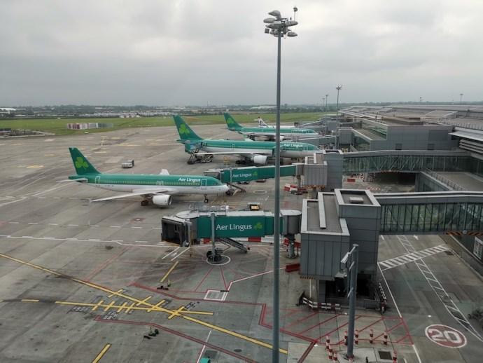 Vom Flughafen Dublin geht es nachher zurück nach Frankfurt (Foto: SmartPhoneFan.de)