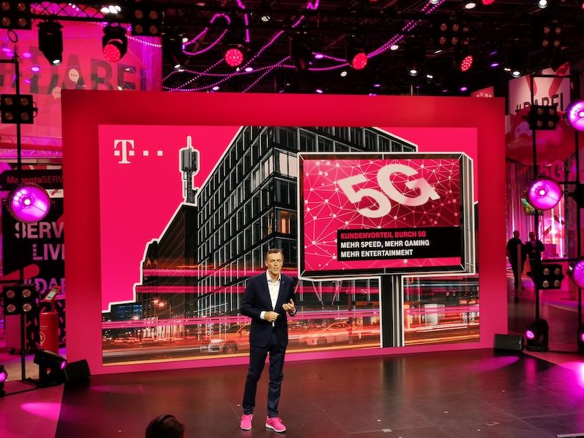 Telekom läutet auf der IFA die 5G-Ära ein (Foto: SmartPhoneFan.de)