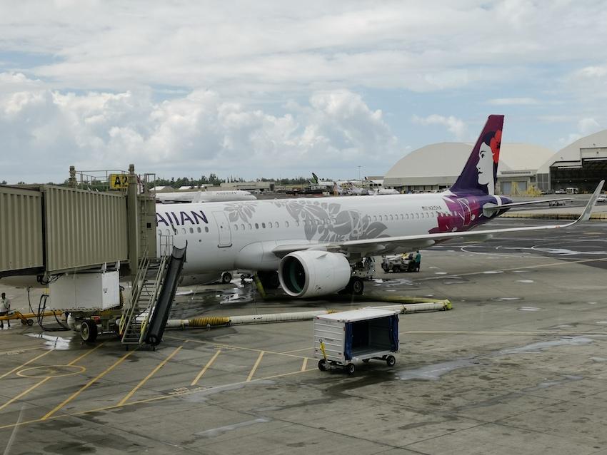 Mit Hawaiian Airlines nach Big Island (Foto: SmartPhoneFan.de)