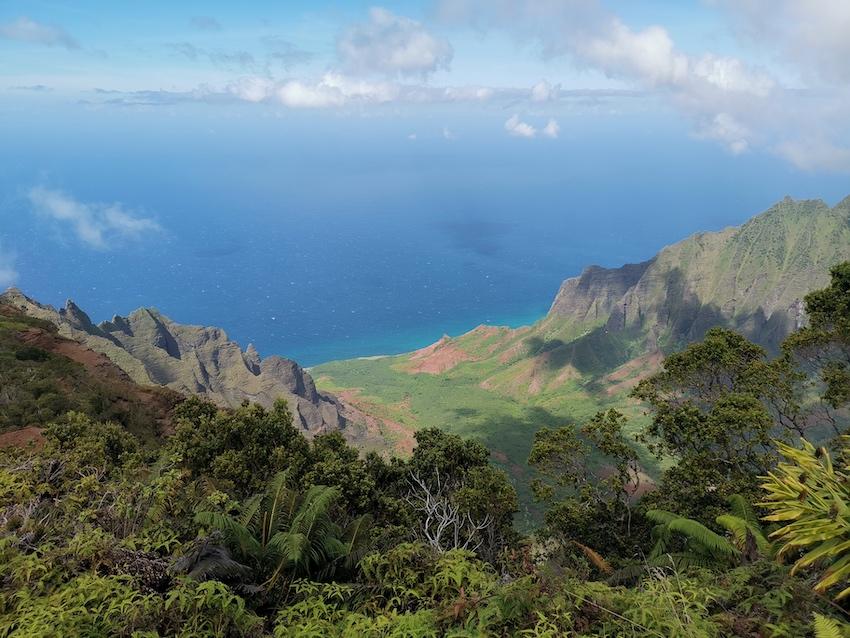 Blick auf den Pazifik (Foto: SmartPhoneFan.de)