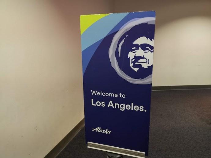 Am Flughafen Los Angeles angekommen (Foto: SmartPhoneFan.de)