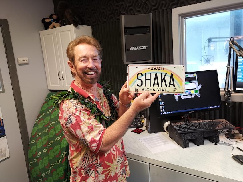 Ron Wiley im Studio von Shaka 103 (Foto: SmartPhoneFan.de)