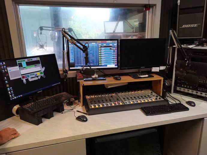 Studio von Shaka 103 (Foto: SmartPhoneFan.de)