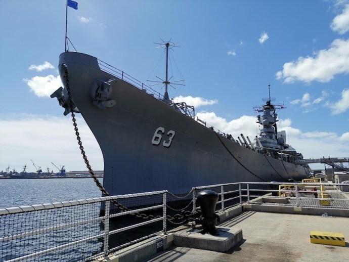 USS Missouri (Foto: SmartPhoneFan.de)