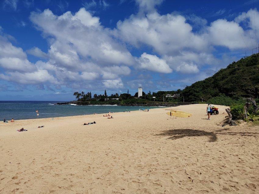 Waimea Beach im Norden von Oahu (Foto: SmartPhoneFan.de)