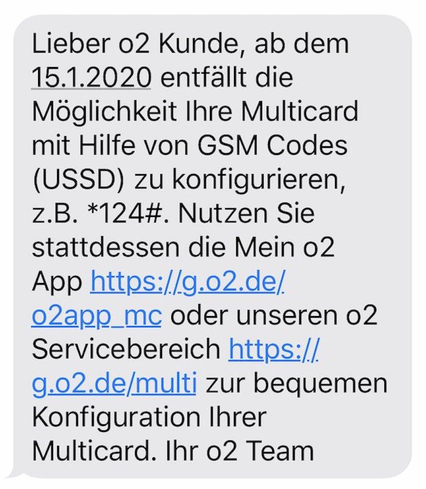 o2 streicht USSD-Codes (Foto: SmartPhoneFan.de)