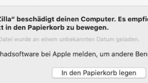 Filezilla als Schadsoftware erkannt (Foto: SmartPhoneFan.de)