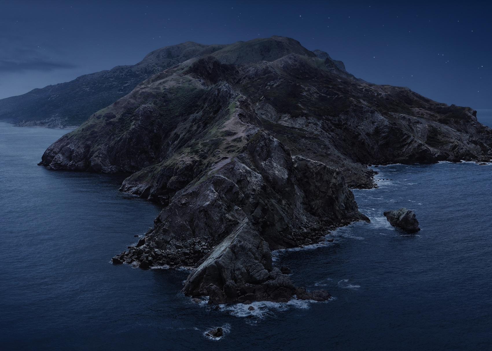 Hintergrund von macOS Catalina (Foto: SmartPhoneFan.de)