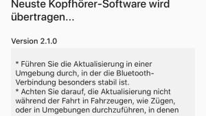 Update für die Sony-Headsets (Foto: SmartPhoneFan.de)