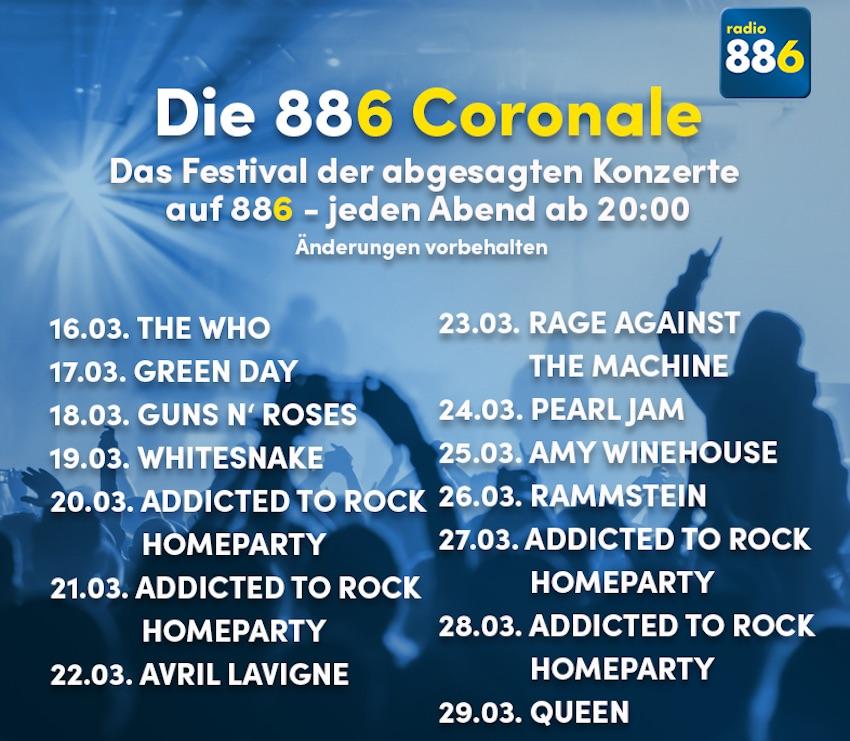 radio 88.6 mit Corona-Sonderprogramm (Foto: radio 88.6)