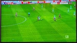 Sky Sport mit neuer Einblendung links unten (Foto: SmartPhoneFan.de)