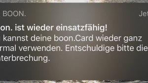 Boon funktioniert vorerst wieder (Foto: SmartPhoneFan.de)