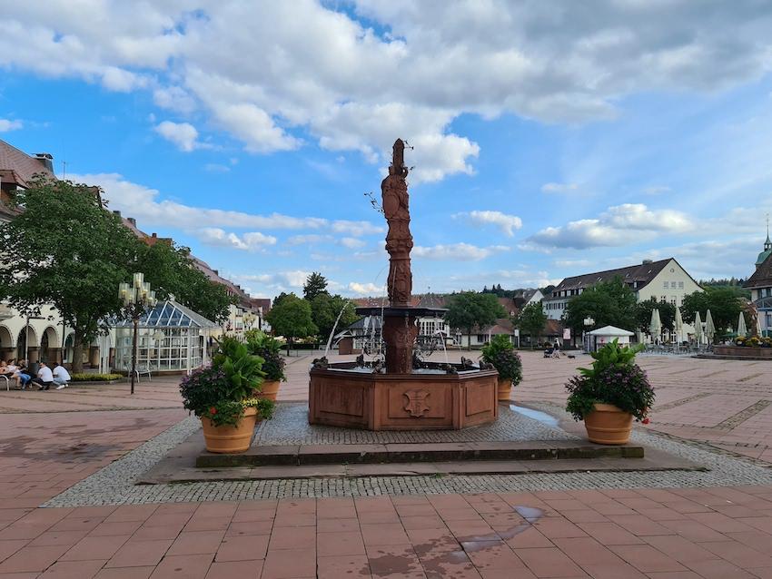 Freudenstadt hat einen der größten Marktplätze Deutschlands (Foto: SmartPhoneFan.de)